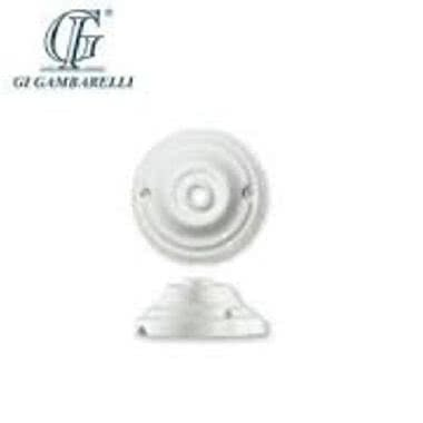G.I. GAMBARELLI 01600 - GAMBARELLI 01600 ROSONE LISCIO PORCELLANA D.80MM product photo Photo 02 3XL