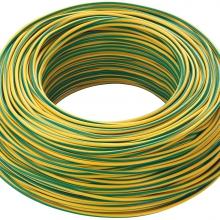 CAVO CORDICELLA UNIPOLARE FS17 450/750 V 1X1,5MMQ GIALLO VERDE product photo
