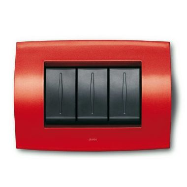 PLACCA SOFT TECN. 3M, ROSSO ABB product photo Photo 01 3XL
