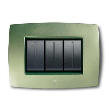 ABB SACE S.P.A. 2CSE0340SMP - Placca Smart tecn. 3M, verde lago product photo Photo 01 3XL