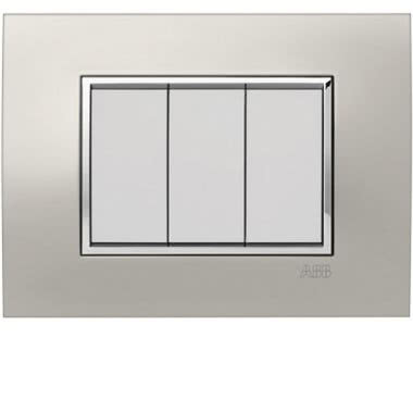 MYLOS PLACCA SQUARE METAL TITANIO SCURO 3M product photo Photo 01 3XL