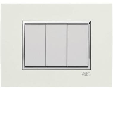 ABB SACE S.P.A. 2CSY0724QSP - PLACCA SQUARE VELVET BIANCO 7M product photo Photo 01 3XL