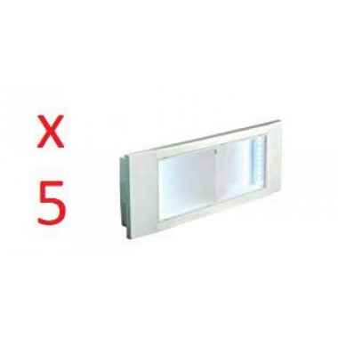 BEGHELLI 1499 LAMPADA LED EMERGENZA 11W  8 ORE INCASSO IP40 SE product photo Photo 07 3XL