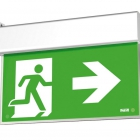 BEGHELLI 4320 - 4320 -  PLAFONIERA EMERGENZA UP LED EXIT DF20M SA 1/2/3H product photo