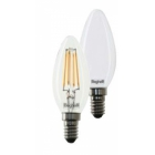 LAMPADA OLIVA ZAFIRO LED BEGHELLI 56181 DIMMERABILE 4W E14 2700K product photo