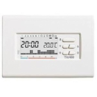 BPT TH400BB CRONOTERMOSTATO DIGITALE SETTIMANALE 3X1,5 AAA BIANCO 69404200 product photo