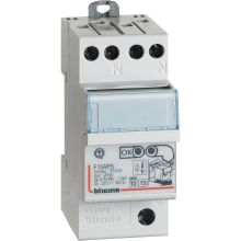 F10AP2 - BTDIN - LIMITATORE SOVRATENSIONE AUTOPORTANTE 2P IN10KA product photo