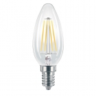 LAMPADA OLIVA LED TRASP.4W E14 470LM 2700K product photo