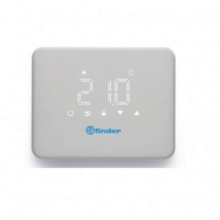 FINDER 1C9190030W07 CRONOTERMOSTATO WIFI BLISS SETTIMANALE BIANCO product photo