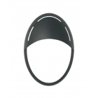 MASCHERA VISIERA JACK OVALE NERA product photo