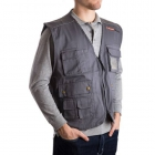 KAPPA4WORK 8045/G/L GILET MULTITASCHE GRIGIO product photo