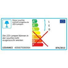 LEDAVANCE DAMP150055840 - OSRAM LEDVANCE PLAFONIERA DAMP PROOF LED 1500 55W 4000K IP65 product photo