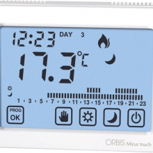 ORBIS MIRUS TOUCH BIANCO CRONOTERMOSTATO TOUCH SCREEN product photo