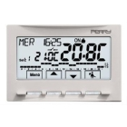 PERRY ELECTRIC 1CRCDS29    CRONOTERMOSTATO INCASSO UNIVERSALE A MENU' SERIE NEXT 230V BIANCO product photo