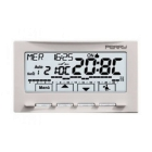PERRY ELECTRIC 1CRCR028B CRONOTERMOSTATO PARETE 3V NEXT BIANCO product photo