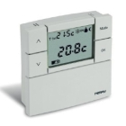 PERRY ELECTRIC 1TPTE530B TERMOSTATO DIGITALE LCD ZEFIRO DA PARETE BIANCO product photo